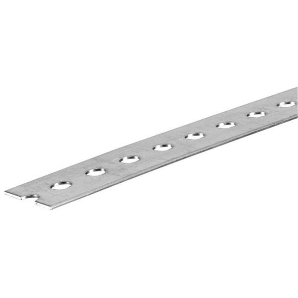Steel Plated Slotted Flat