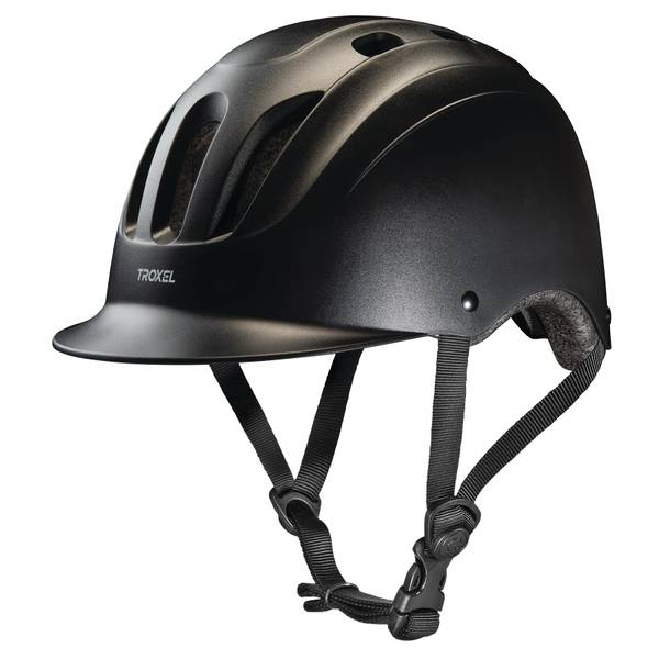 Black Sport All - Purpose Riding Helmet