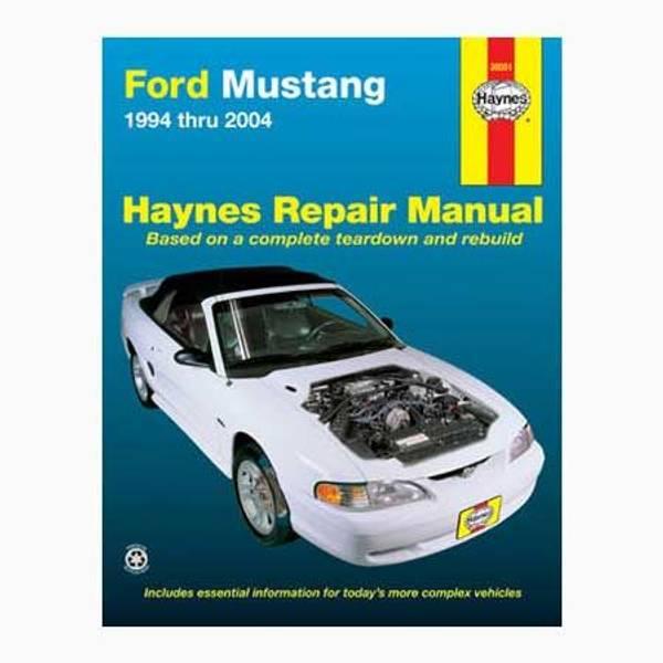 Ford Mustang, '94-'04 Manual