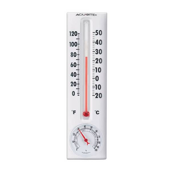 Indoor & Outdoor Thermometer with Hygrometer
