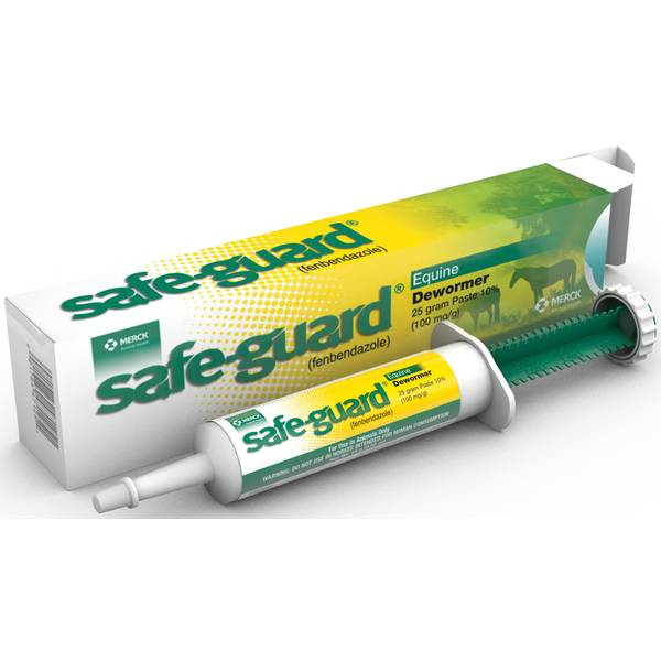 Safe-Guard (fenbendazole 10%) Equine Paste Dewormer