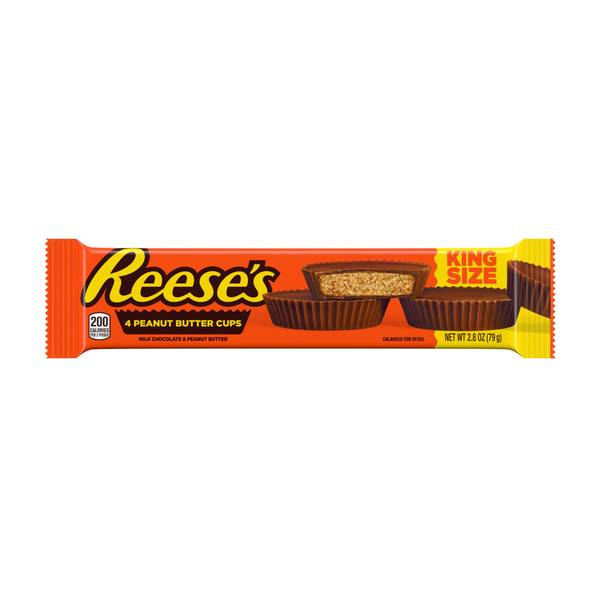 King Size Reese's Peanut Butter Cups