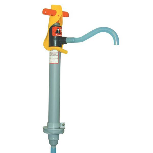 Lockable Milkhouse Drum Pump