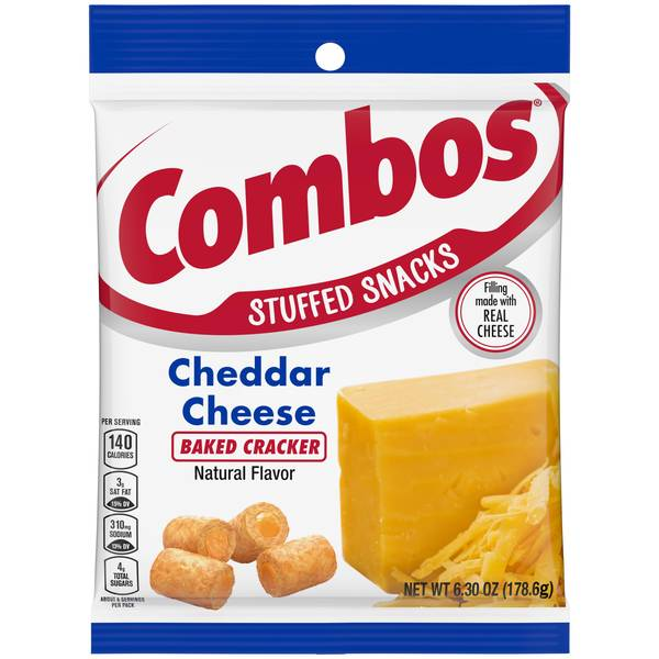 Cheddar Cheese Cracker Snacks