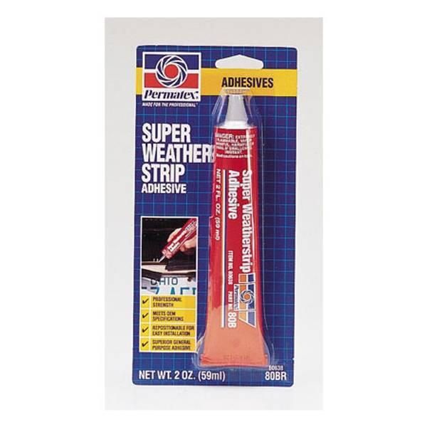 Super Weatherstrip Adhesive