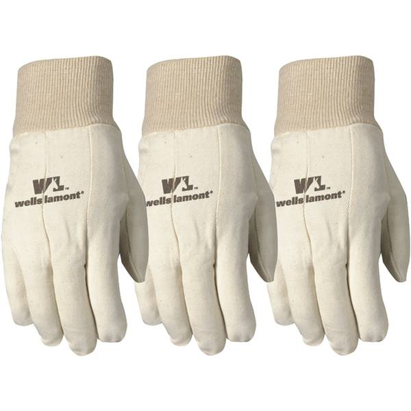 Men's Wearpower Plus Canvas Gloves Multi Pack