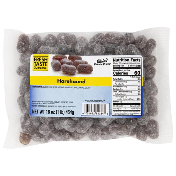 Horehound Hard Candy