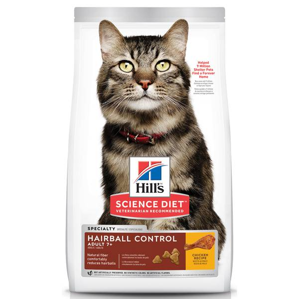 Mature Adult Hairball Control Dry Cat Food