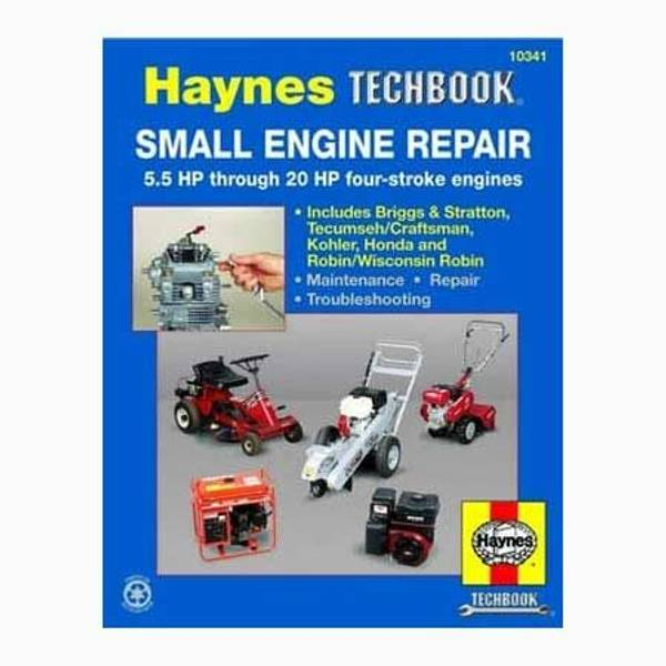 Small Engine Repair Manual, 5.5 HP through 20 HP Manual