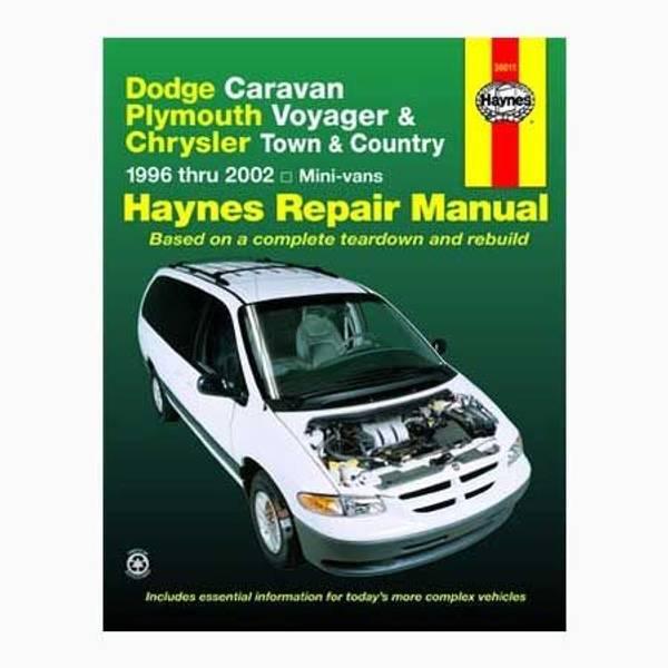 Dodge & Plymouth Mini Vans, '96-'02 Manual