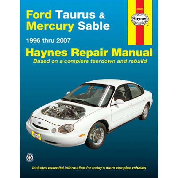 Ford Taurus & Mercury Sable, '96-'07 Manual