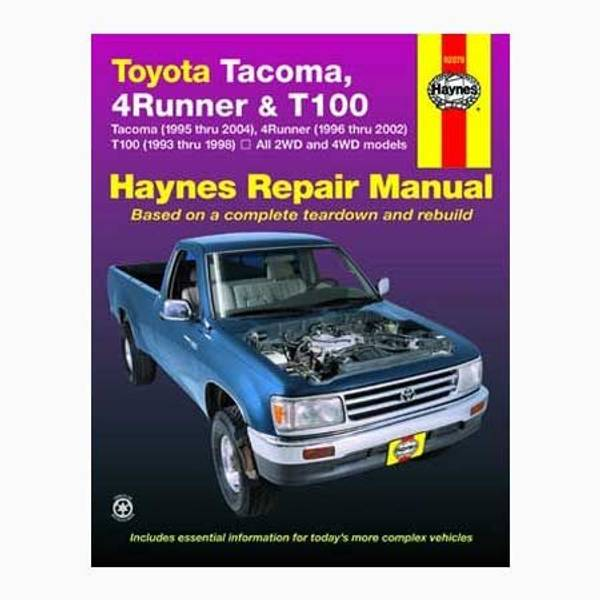 haynes toyota tacoma 95 04 4runner 96 02 t100 93 98 manual rh farmandfleet com 1996 toyota tacoma owners manual pdf 1996 toyota tacoma owners manual pdf
