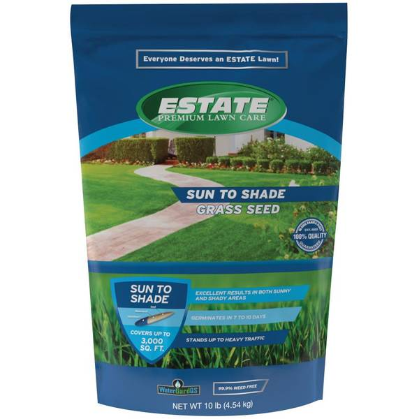 10 lb Premium Sun To Shade Lawn Seed Mixture