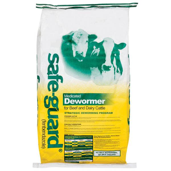 Safe - Guard Medicated Dewormer Cattle Feed