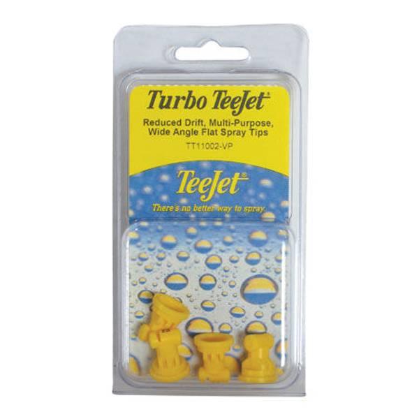 Turbo Teejet Reduced Drift Multi - Purpose Wide Angle Flat Spray Tips