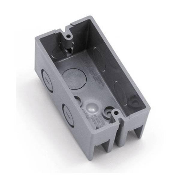 PVC Single Gang Outlet Box