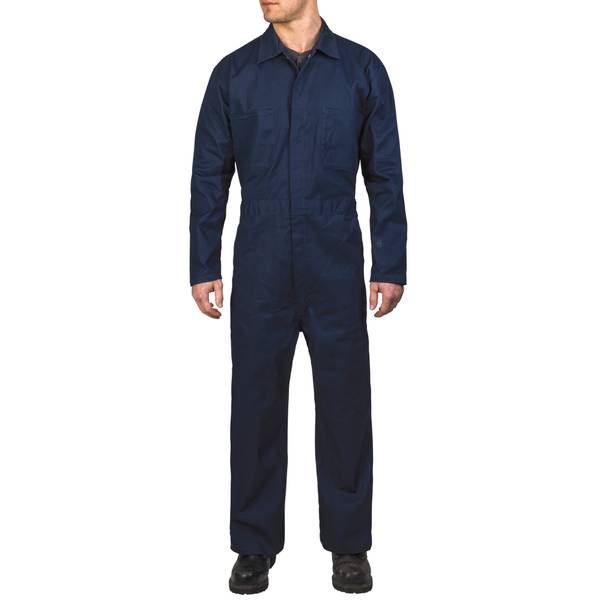 Men's Navy Non Insulated Work Coveralls