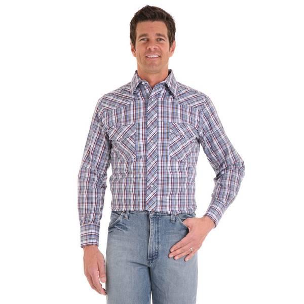 Men's Plaid Sport Western Shirt Assortment