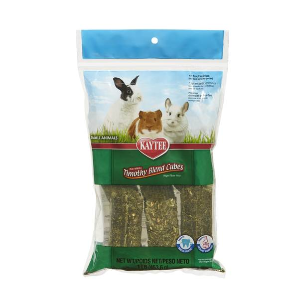 Natural Timothy Hay Cube Rabbit Feed
