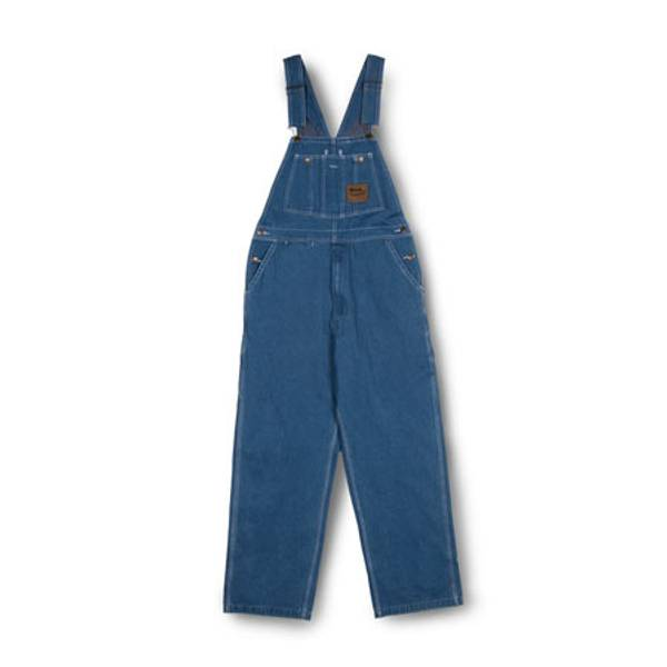 Men's Zip Fly Bib Overalls