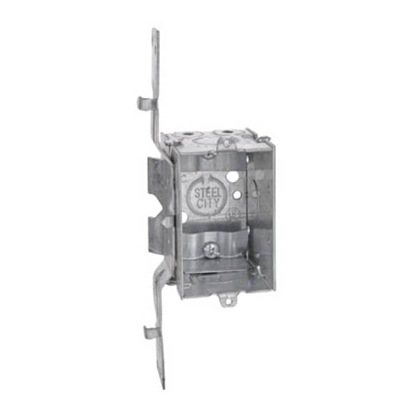 """3"""" x 2"""" Switch Box 2-1/2"""" Deep with Cable Clamps"""