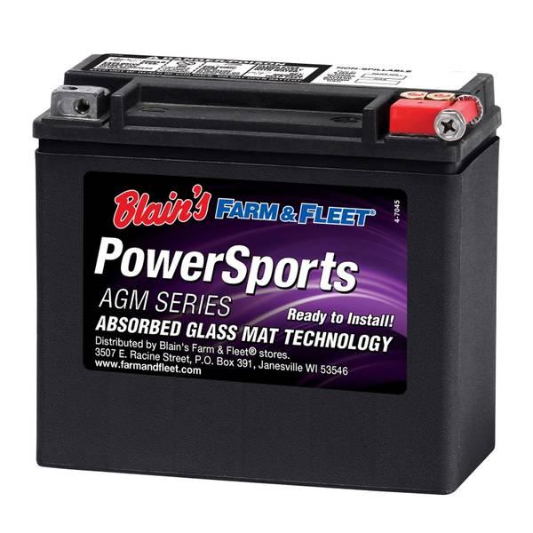 20LBS AGM Powersport Battery