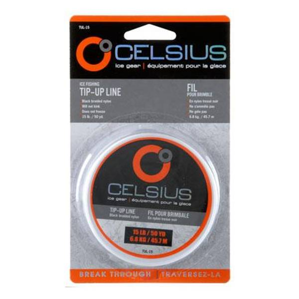 Celsius ice fishing tip up line for Ice fishing tip up line