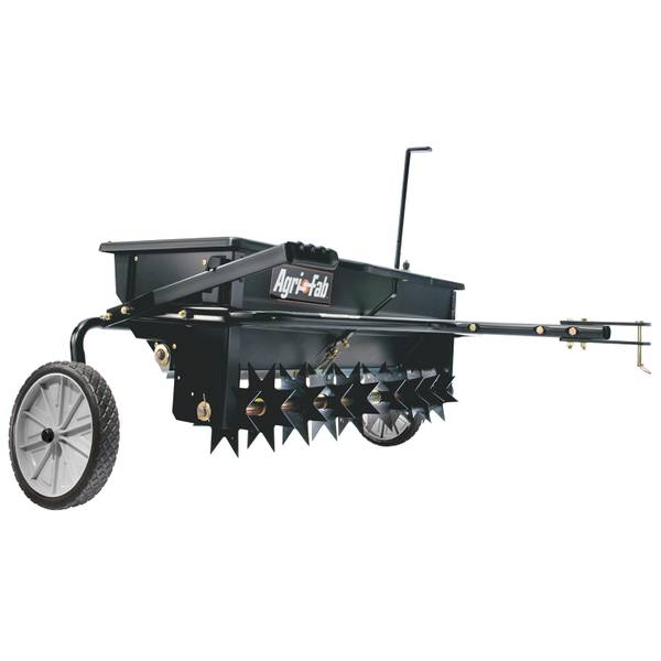 Drop Lawn Spreader & Aerator