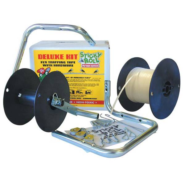 Sticky Roll Fly Trap System Deluxe