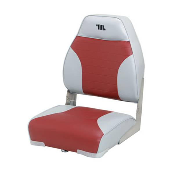 Mid - Back Fold - Down Boat Seat