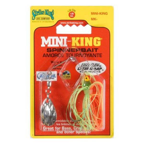 Strike King Mini-King Firetiger Spinnerbait