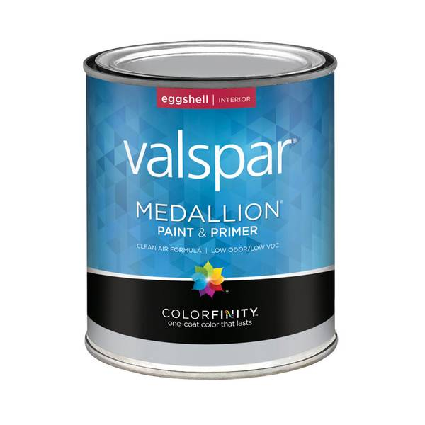 Valspar 1 Quart Medallion Interior Latex Eggshell Paint