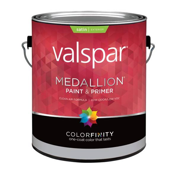 Valspar 1 Gallon Medallion Exterior Satin Latex House And Trim