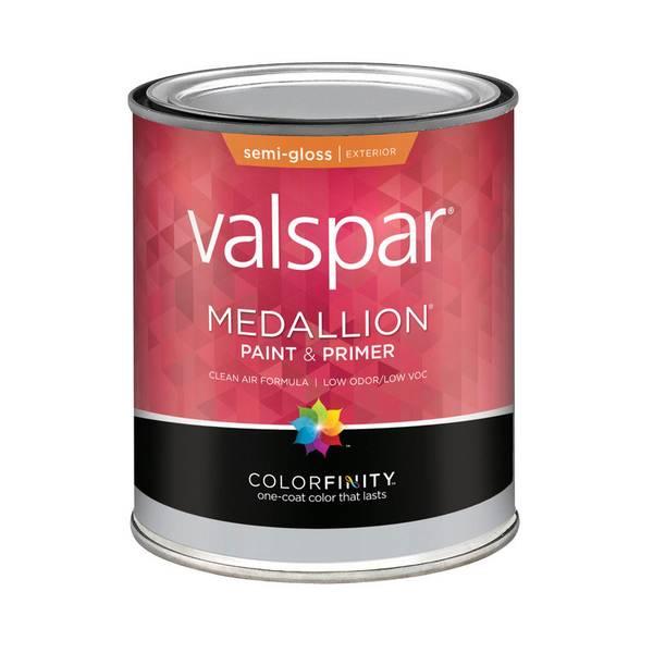Valspar Medallion Exterior Semi Gloss Latex House And Trim