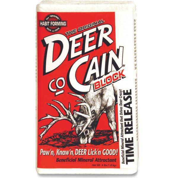Deer Co-Cain 4 lb Mineral Attractant Block