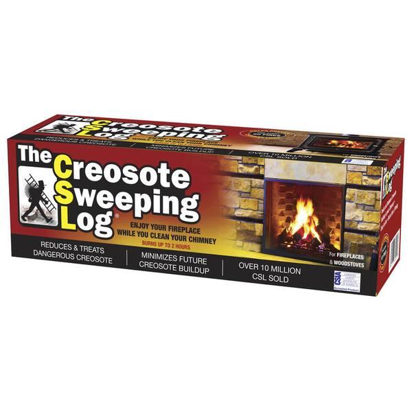 Creosote Sweeping Log