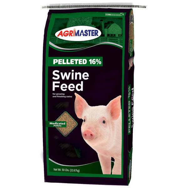 Pelleted 16 Swine Feed