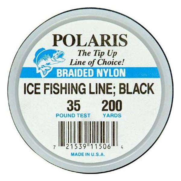Polaris black ice fishing line test weight 35 lb at for Fleet farm ice fishing