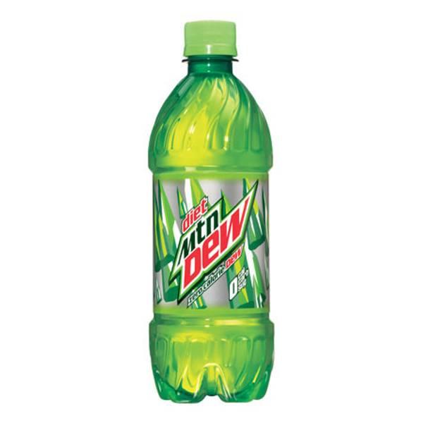20 oz Diet Mountain Dew