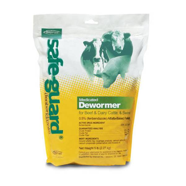 Safe-Guard Dewormer for Dairy and Beef Cattle