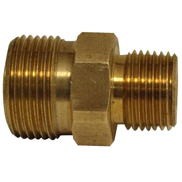 Male Pipe Thread X Male Metric Adapter