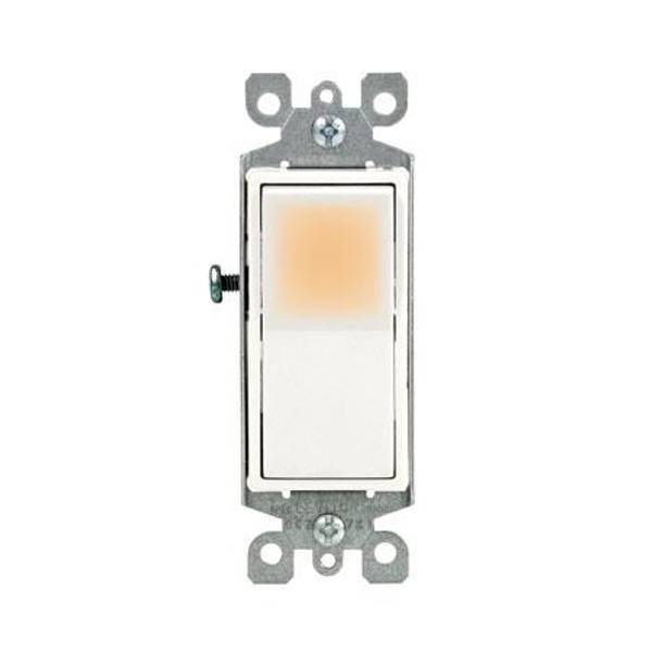 Decora Rocker Single - Pole AC Quiet Switch