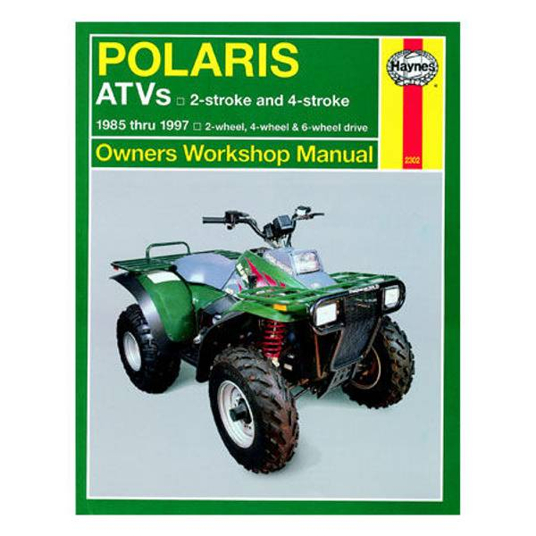 Polaris ATV 250-500cc, '85-'97 Manual