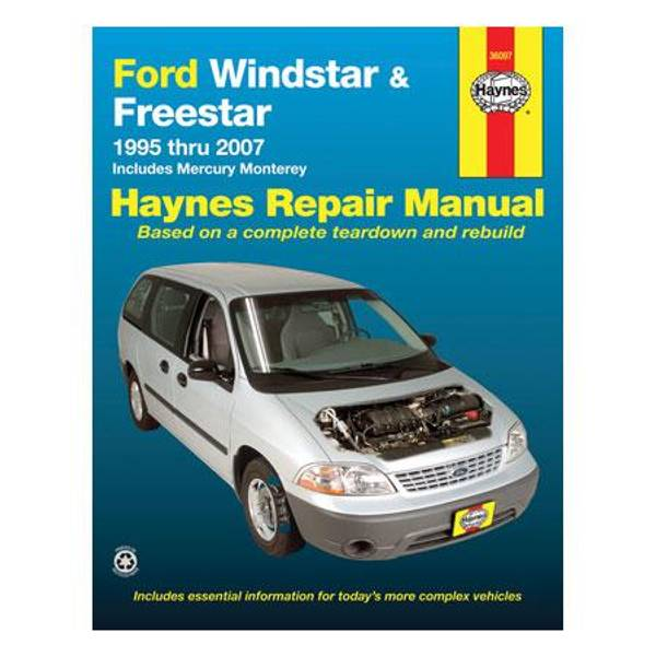 Ford Windstar, '95-'07 Manual