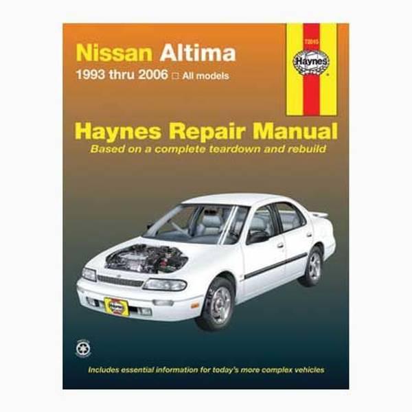 haynes nissan altima 39 93 39 06 manual. Black Bedroom Furniture Sets. Home Design Ideas