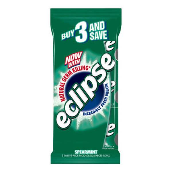 Eclipse Sugar Free Gum 3 Multi Pack