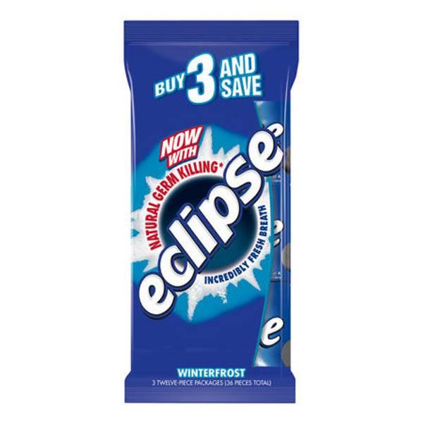 Eclipse Sugar Free Gum 3 Multi Pack