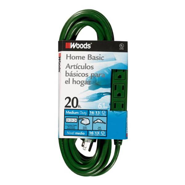3 Outlet Extension Cord