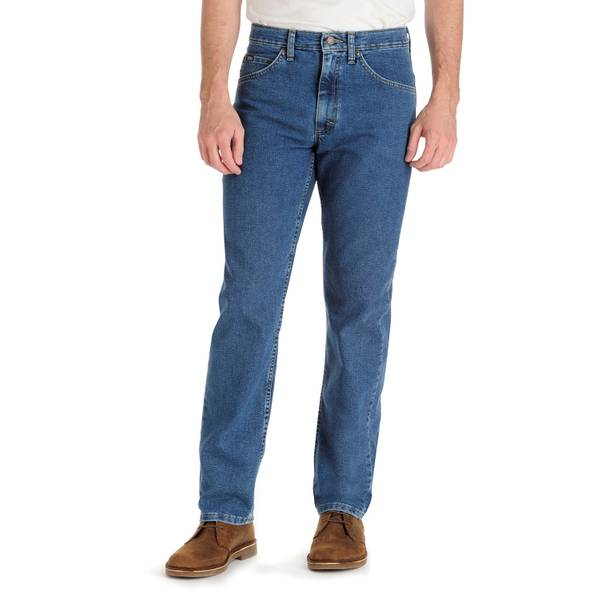Men's Regular Fit Stretch Jeans