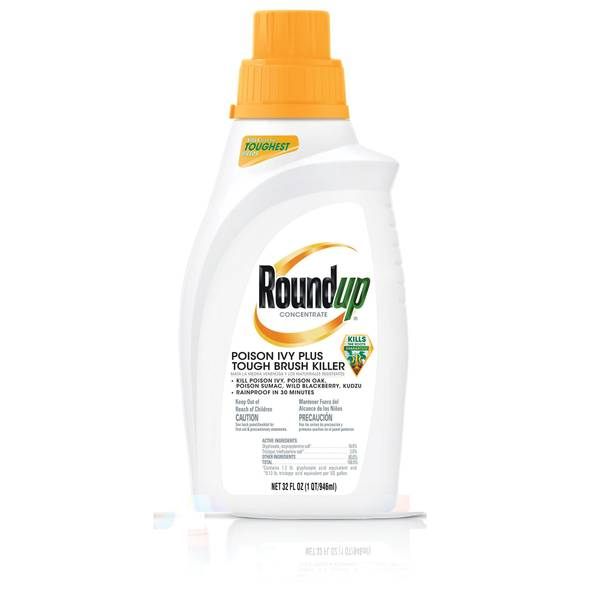 Roundup 32 Oz Poison Ivy Plus Tough Brush Killer Concentrate 5002310 Blain S Farm Fleet